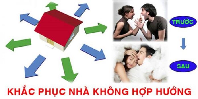 Khắc phục nhà không hợp hướng đem lại nhiều lợi ích cho cuộc sống của gia chủ và gia đình.
