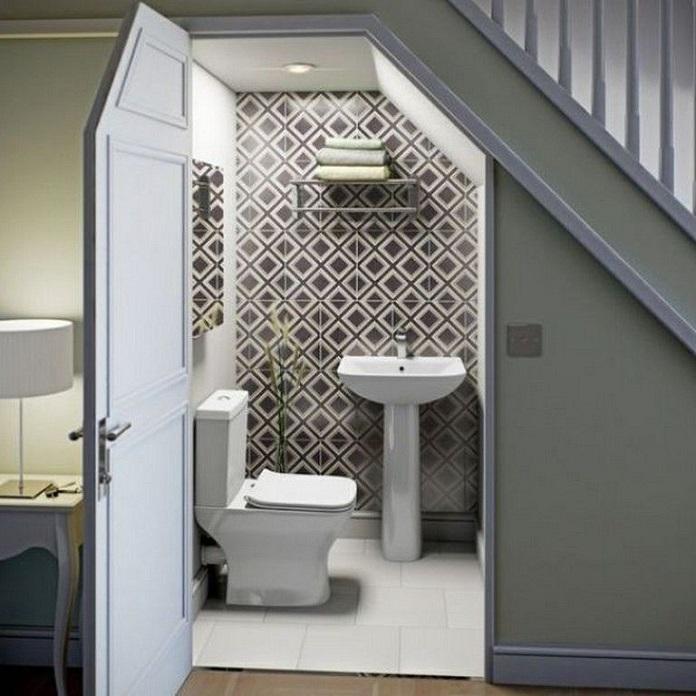 Thiết kế nhà vệ sinh dưới gầm cầu thang ảnh hưởng rất lớn tới vấn đề phong thủy và khiến cho gia đình gặp phải nhiều điều xui xẻo nếu không biết cách hóa giải