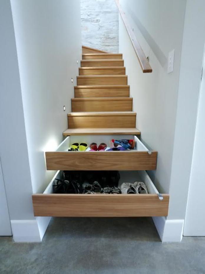 Bậc thang là những ngăn chứa đồ thông minh