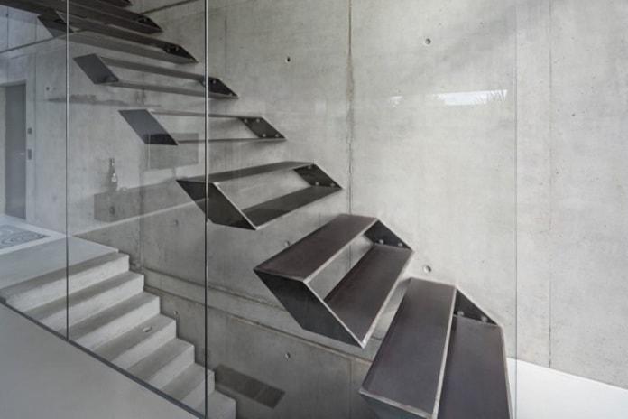 Cầu thang mang phong cách Futuristic