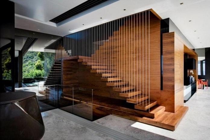Thiết kế cầu thang hiện đại đậm chất nghệ thuật
