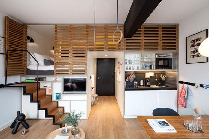 Thiết kế cầu thang nhà nhỏ đảm bảo tính tiết kiệm diện tích