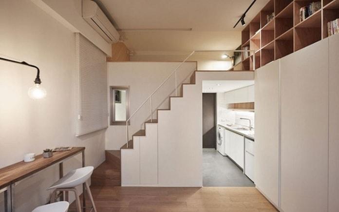 Thiết kế cầu thang tối ưu diện tích sử dụng